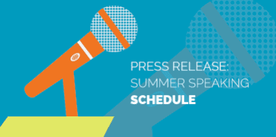 Summer Speaking Schedule